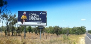 A sign of mining culture in Queensland