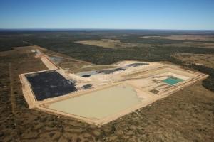 Alpha coal mine test pit